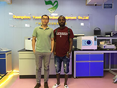 Medical X Ray Customer From Somali Visit Our Office