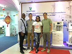 Customer From Africa Visit YSENMED Office