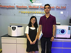 Medical X Ray Customer Come To YSENMED To Place Order