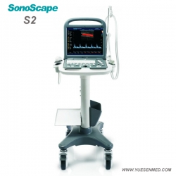 Portable 3D 4D Color Doppler Ultrasound SonoScape S2