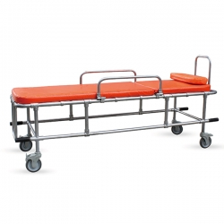 Non-Magnetic Stretcher Bed for MRI