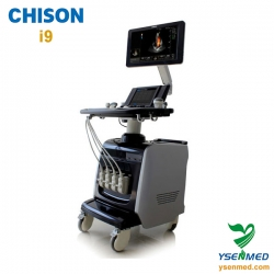 Trolley Color Doppler Chison Ultrasound Scanner Machine Chison I9