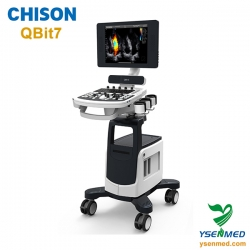 Medical Trolley 4D Color Doppler CHISON Ultrasound Machine CHISON Qbit7