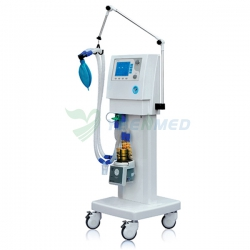 "Top Quality 5.7"" LCD Screen Display Mobile Medical Ventilator YSAV201M"