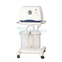 Medical Plastic Mobile Diaphragm Vacuum Pump Suction Apparatus Machine YS-23C5