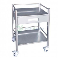 Customized One Big Drawer Stainless Steel Mobile Dental Cabinet YSDEN-D50