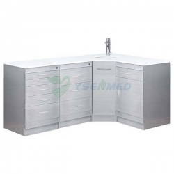 Customized First Grade Stainless Steel Combination Dental Cabinet YSDEN-ZH14