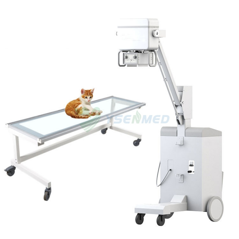 Veterinary 5kw/100mA Mobile Medical X Ray Machine YSX100VET