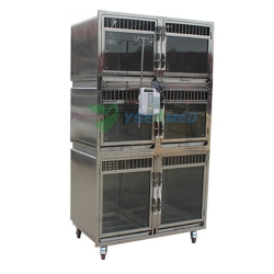 Hot Sale Stainless Steel Veterinary animal cages YSVET1220A