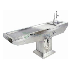 Stainless Steel Autopsy Table With Sink YSJP-02A
