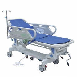 Hospital Manual Emergency Stretcher Cart YSHB-SJ1A