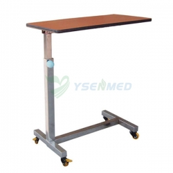 Medical Mobile Overbed Dinning Table YSHB-CB06