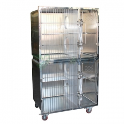 Veterinary Stainless Cat Cage YSVET1000
