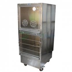 Medical Stainless Vet Oxygen Cage YSVET610B