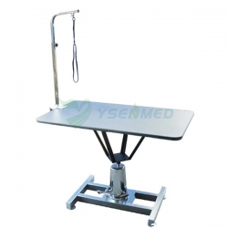 Medical 304 Stainless Steel Venterinary Pet Groom Bath Table YSVET-MY1002