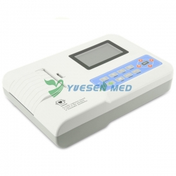 Portable Touch Screen Digital 3 Channel ECG Machine YSECG-03T