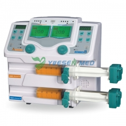CE ISO Approved Double Channel Syringe Pump YSZS-810T
