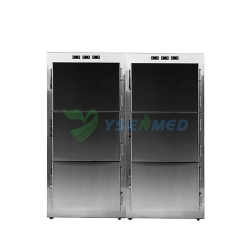 Stainless Steel 6 Bodies Corpse Mortuary Freezer YSSTG0106B