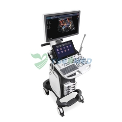 13.3 Inches High Resolution Touch Screen Sonoscape P40 Trolley Color Doppler Ultrasound
