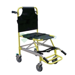 YSDW-ST10 Aluminum Alloy Medical Foldaway Stair Chair