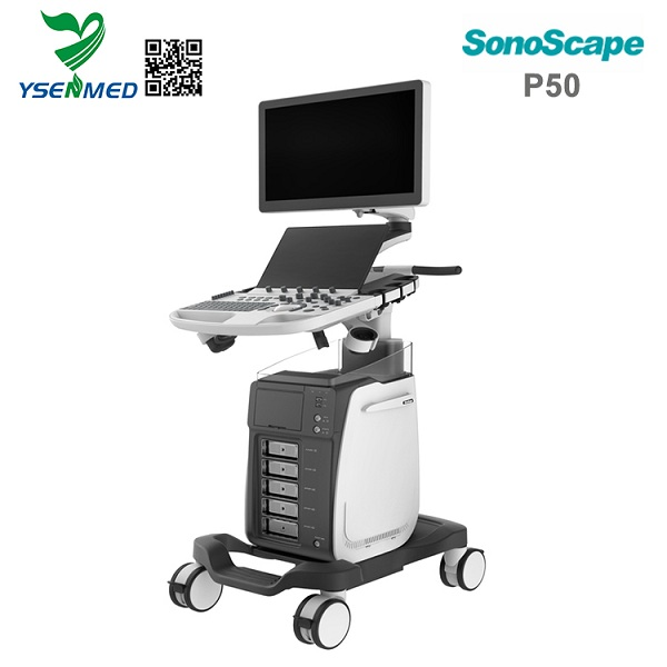 SonoScape P50 Advanced color doppler ultrasound machine