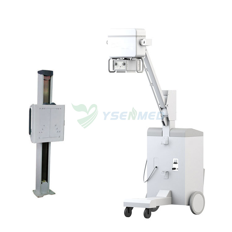 High Frequency 100mA 5kw Mobile Medical X Ray Machine