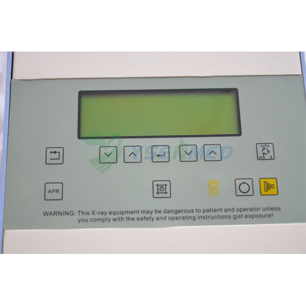Control panel of 100ma portable x ray unit YSX050-A