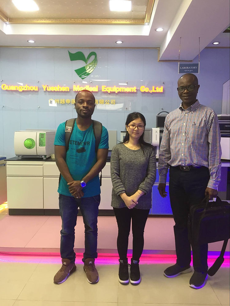 Africa Friend Introduce Customer To Medical X Ray