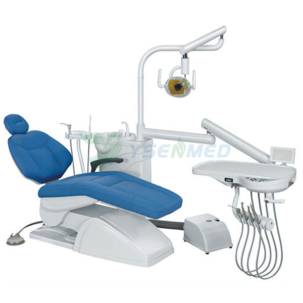 Economic Type 3 Way Syringe Dental Chair Unit