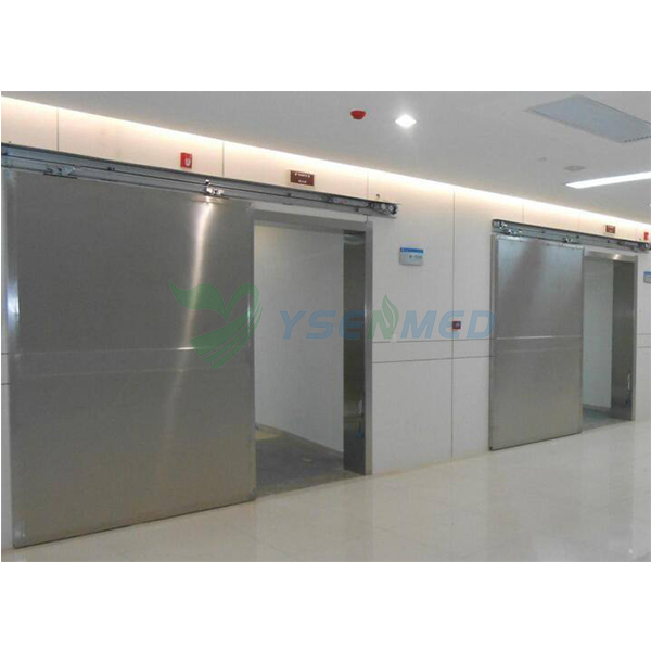 One-Way / Unidirectional Stainless Steel Sliding X-ray Leaded Door